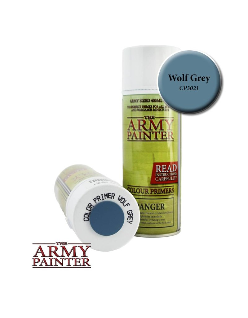 The Army Painter Colour Primer - Wolf Grey