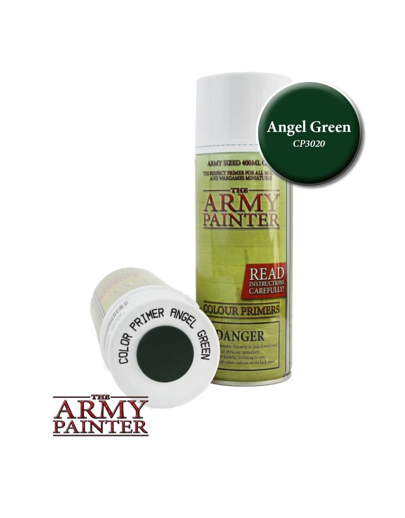 The Army Painter Colour Primer - Angel Green – 400ml