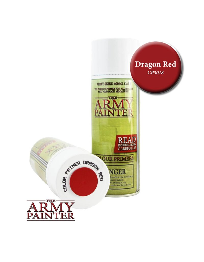 The Army Painter Colour Primer - Dragon Red