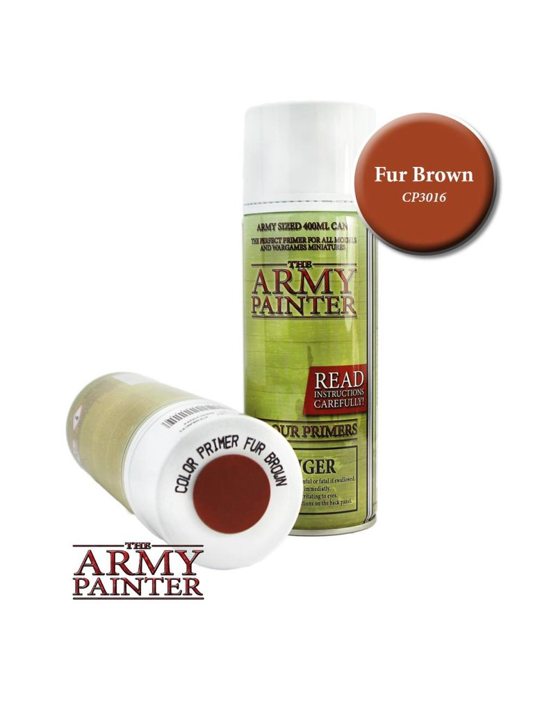 The Army Painter Colour Primer - Fur Brown