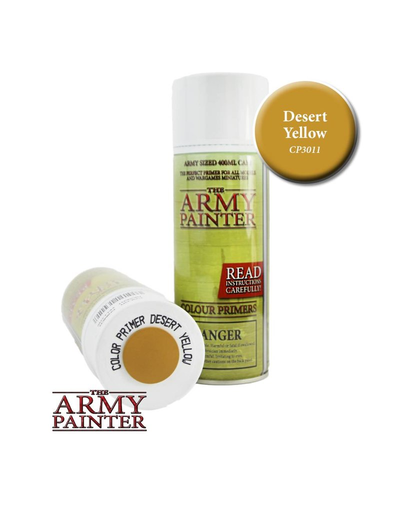 The Army Painter Colour Primer - Desert Yellow – 400ml