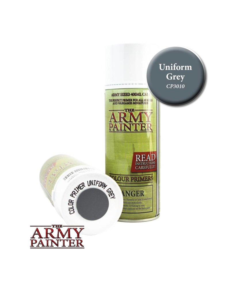 The Army Painter Colour Primer - Uniform Grey – 400ml
