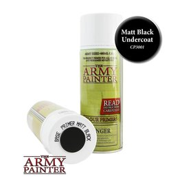 The Army Painter Base Primer - Matt Black