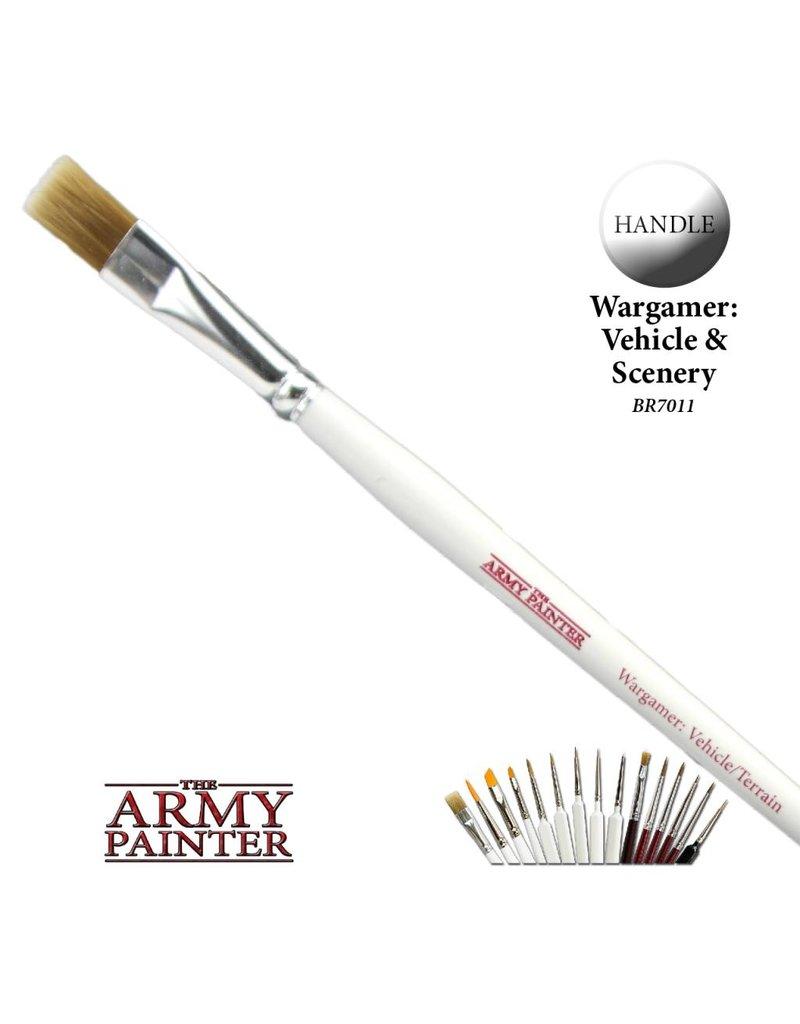 The Army Painter Wargamer Brush - Vehicle / Terrain
