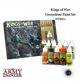 The Army Painter Warpaints Kings of War Greenskins paint set