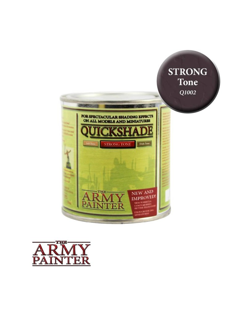 The Army Painter Quickshade - Strong Tone – 250ml