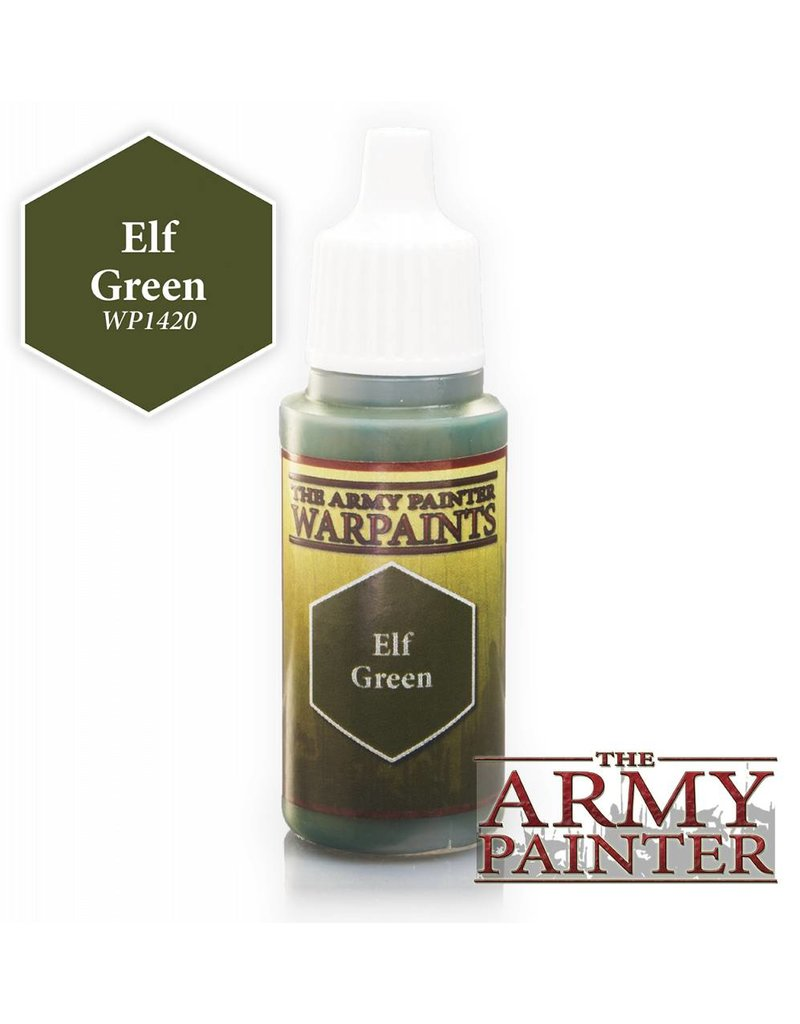 The Army Painter Warpaint - Elf Green - 18ml
