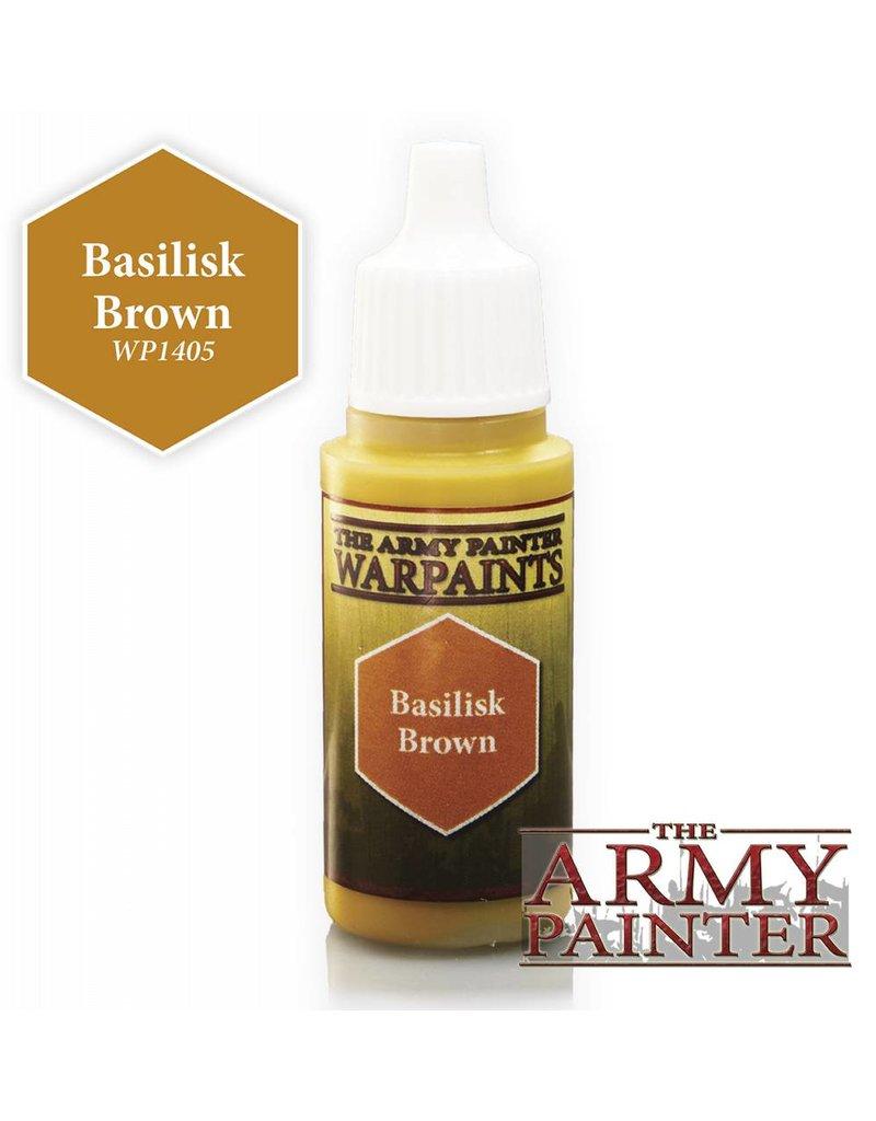 The Army Painter Warpaint - Basilisk Brown - 18ml