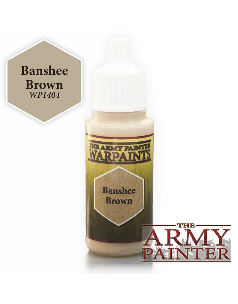 The Army Painter Warpaint - Banshee Brown - 18ml
