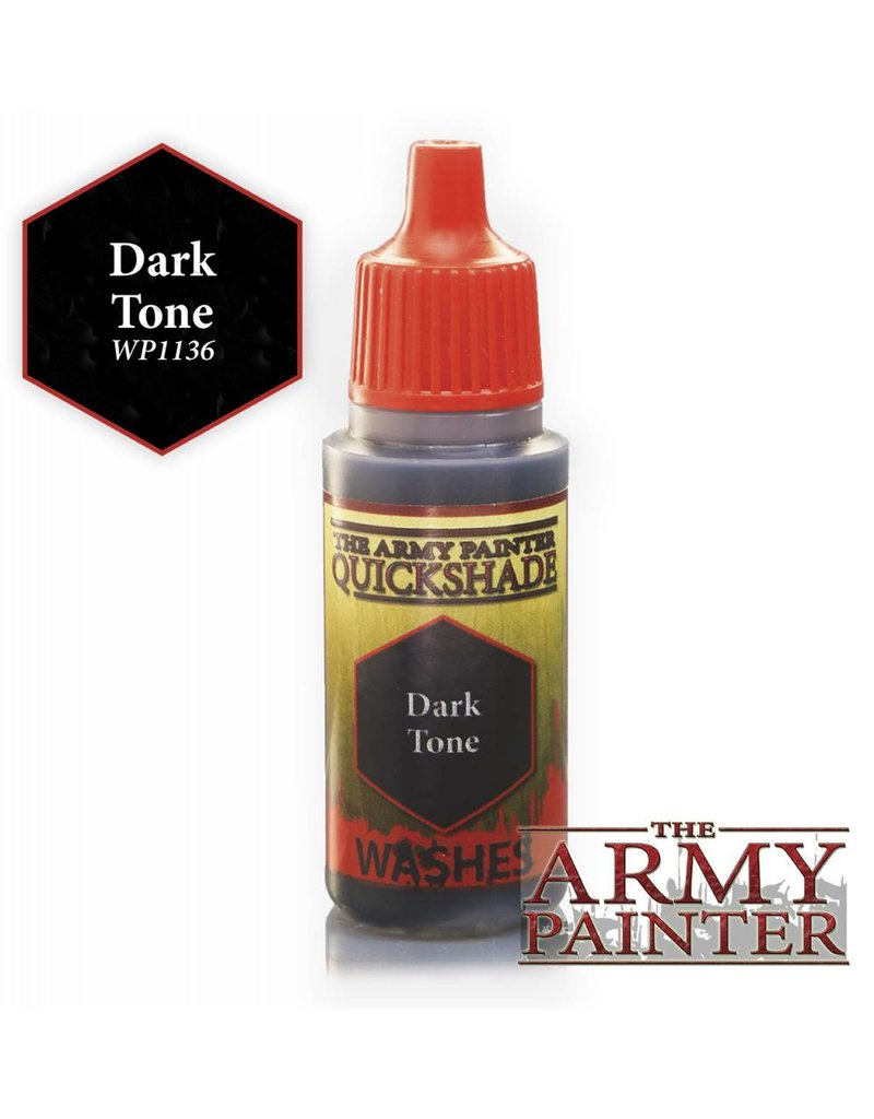 The Army Painter Warpaint - Quickshade Dark Tone Wash - 18ml