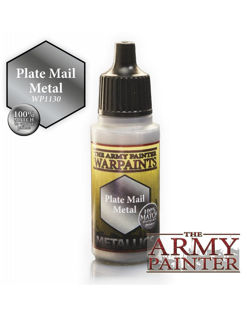 The Army Painter Warpaint - Plate Mail Metal - 18ml