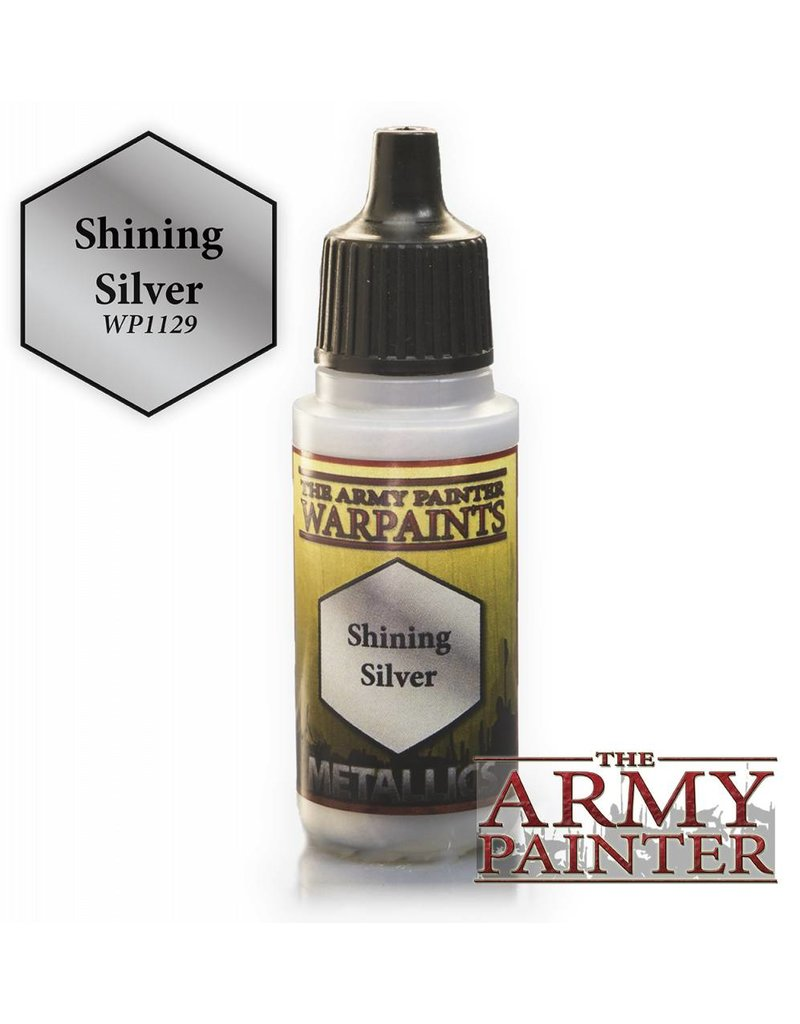 The Army Painter Warpaint - Shining Silver - 18ml