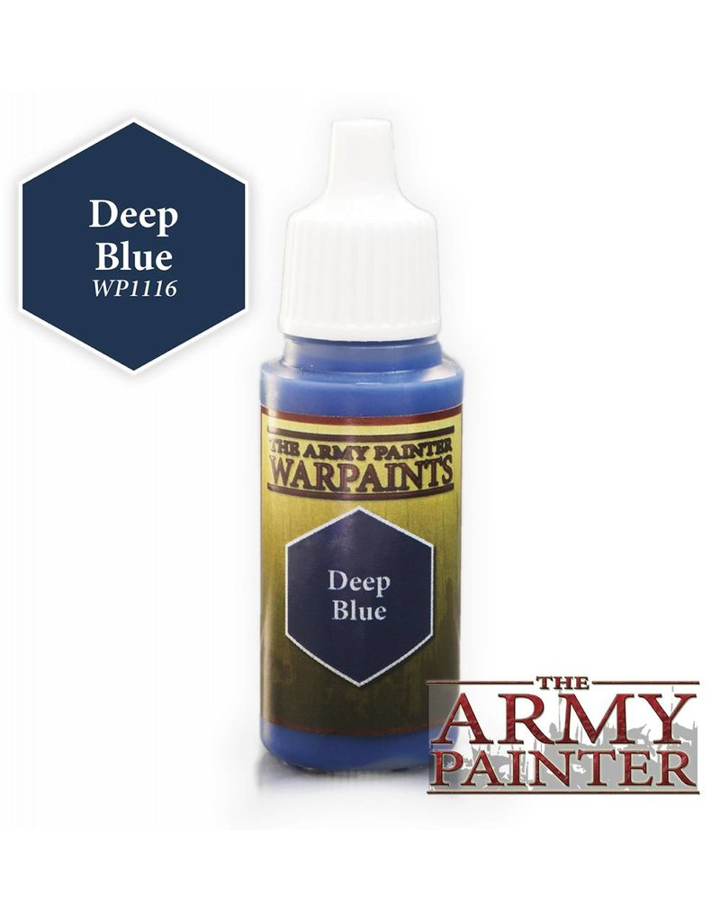 The Army Painter Warpaint - Deep Blue - 18ml