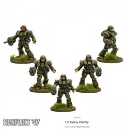 Warlord Games US Heavy Infantry