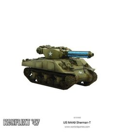 Warlord Games Sherman with Tesla Cannon
