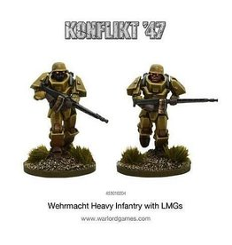 Warlord Games German Heavy Infantry with LMGs