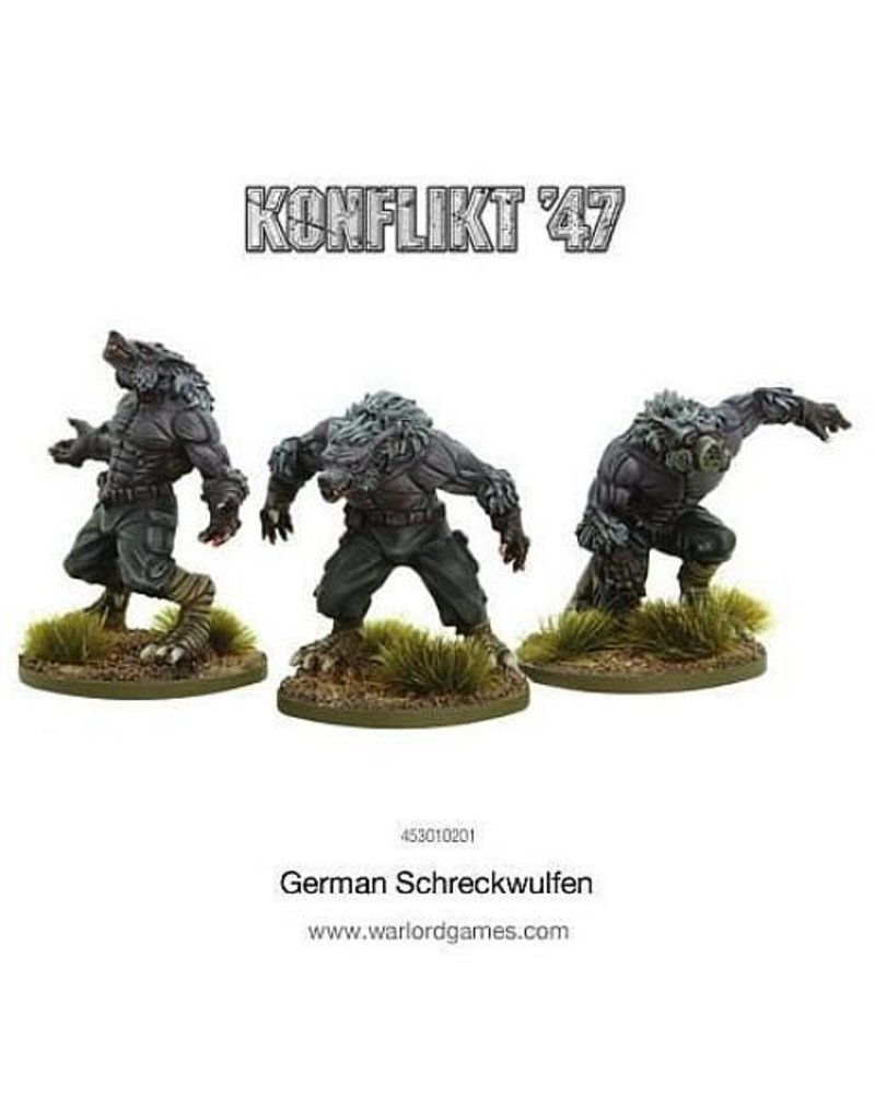 Warlord Games German Shreckwulfen