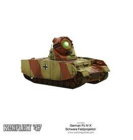Warlord Games German Pz IV-X