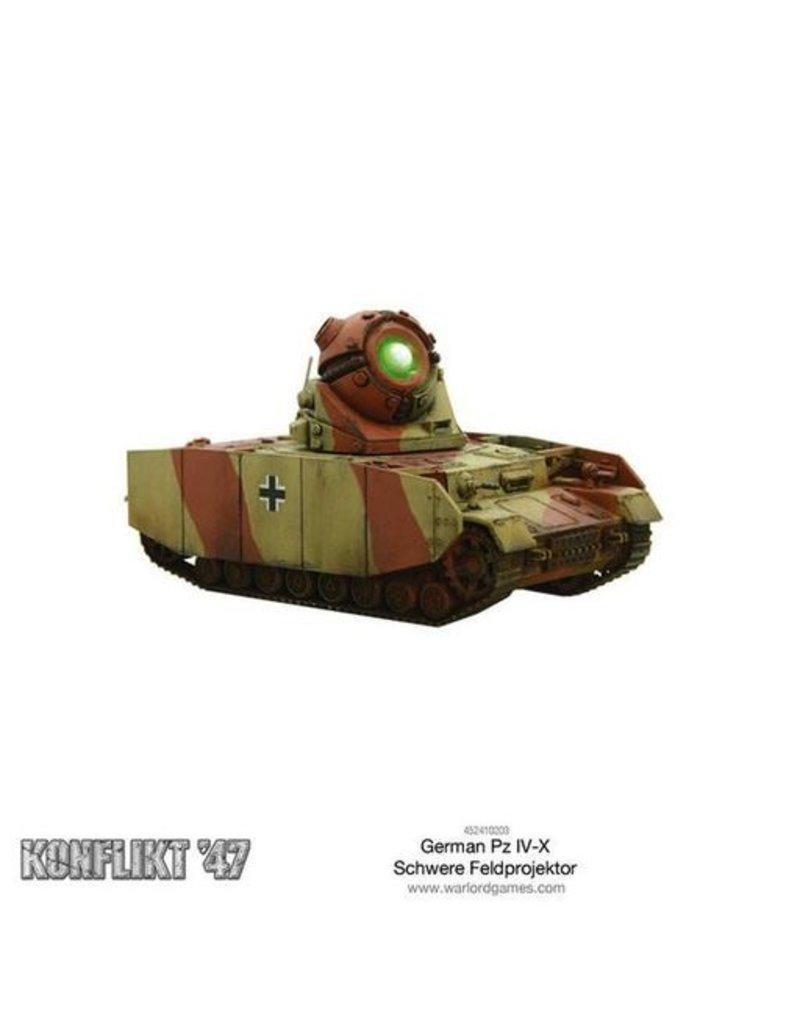 Warlord Games German Panzer IV-X