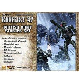 Warlord Games British Konflikt 47 Starter Set