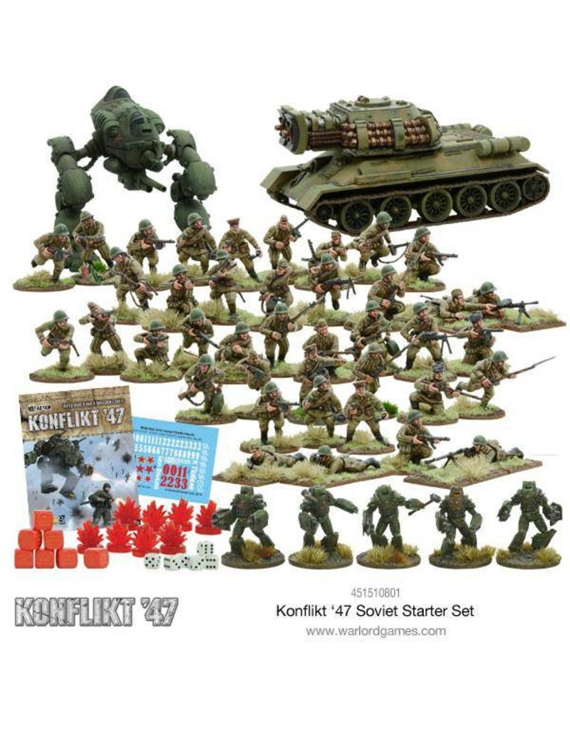 Warlord Games Soviet Konflikt 47 Starter Set