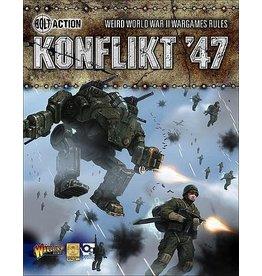 Warlord Games Konflikt '47 Rule Book