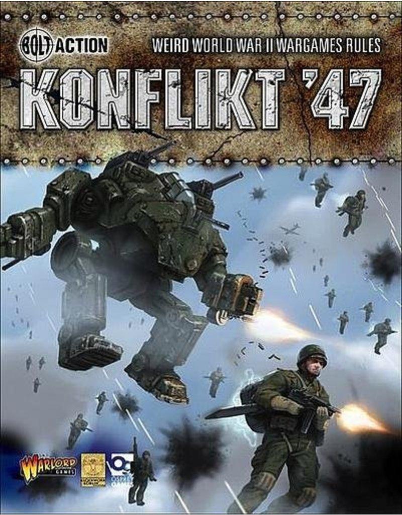 Warlord Games Konflikt '47 Rule Book (HB)