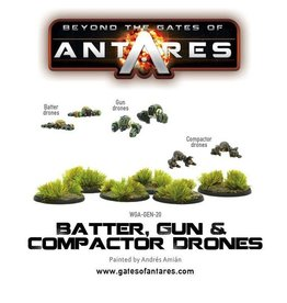 Warlord Games Batter, Gun & Compactor drones