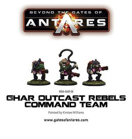 Warlord Games Ghar Outcast Rebel Command Team