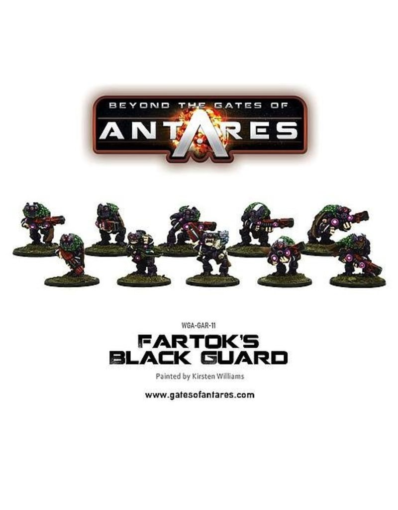 Warlord Games Ghar Outcasts Fartok's Black Guard