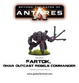 Warlord Games Ghar Outcasts Fartok, Rebel Commander