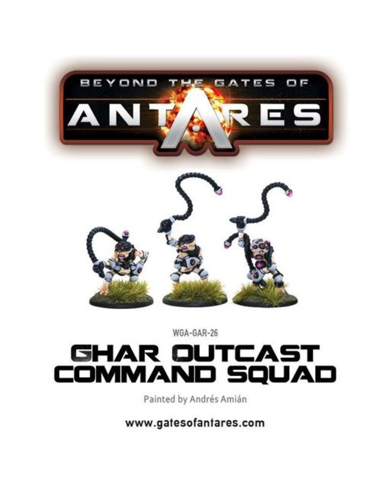 Warlord Games Ghar Outcast Command squad