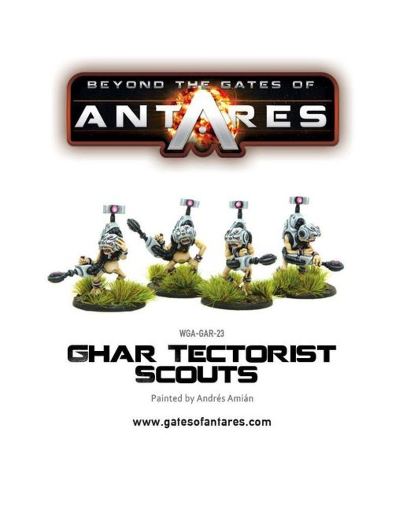 Warlord Games Ghar Tectorists Scouts