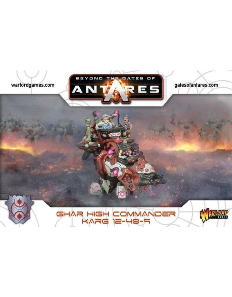 Warlord Games Ghar High Commander Karg 12-40-9