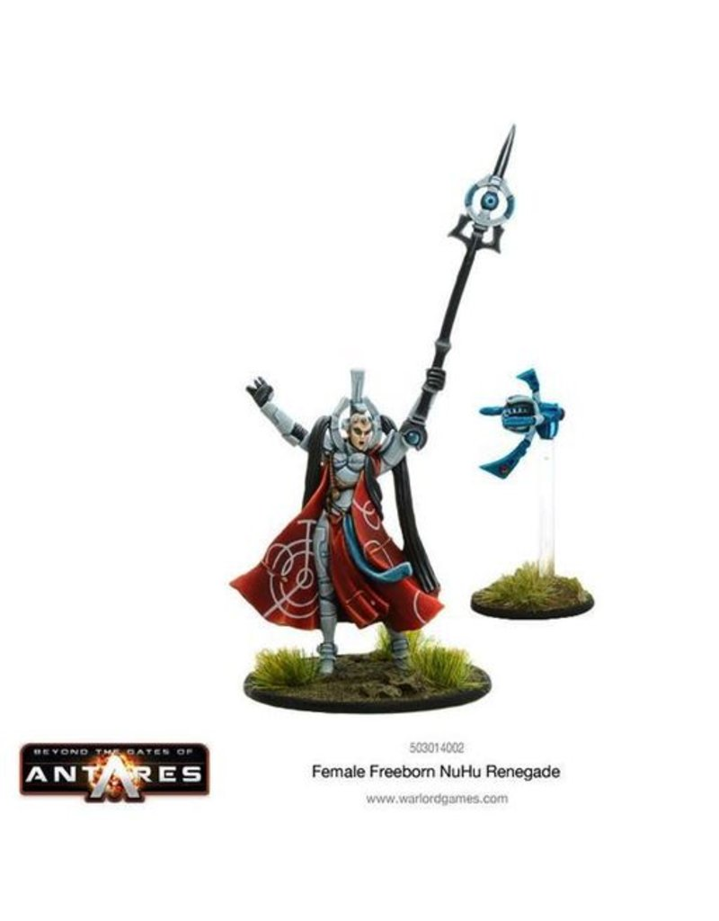 Warlord Games Freeborn NU Hu Renegade Female