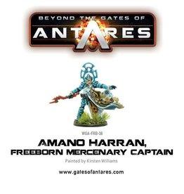 Warlord Games Amano Harran, Freeborn Mercenary Captain