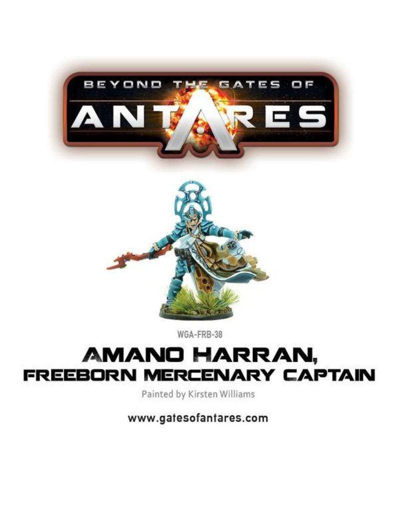 Warlord Games Freeborn Amano Harran, Mercenary Captain