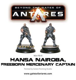 Warlord Games Hansa Nairoba & Bovan Tuk, Mercenary Captains