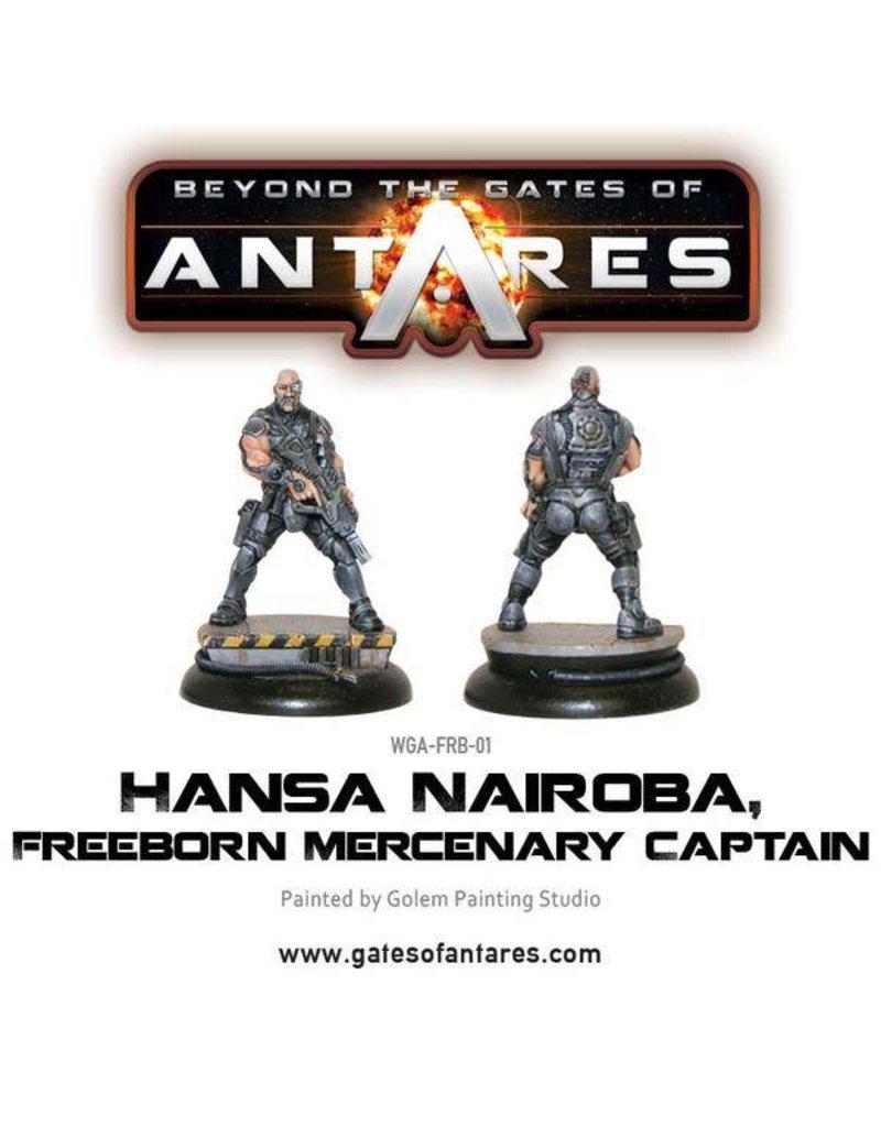 Warlord Games Freeborn Hansa Nairoba & Bovan Tuk, Mercenary Captains