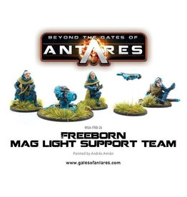 Warlord Games Freeborn Support Team with Mag Light support