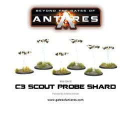 Warlord Games Concord Scout Probe Shard (6 )