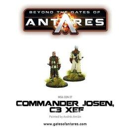 Warlord Games Commander Josen, C3 XEF