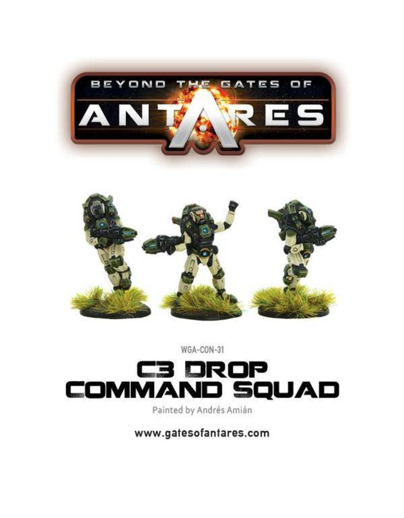 Warlord Games Concord Drop Command Squad