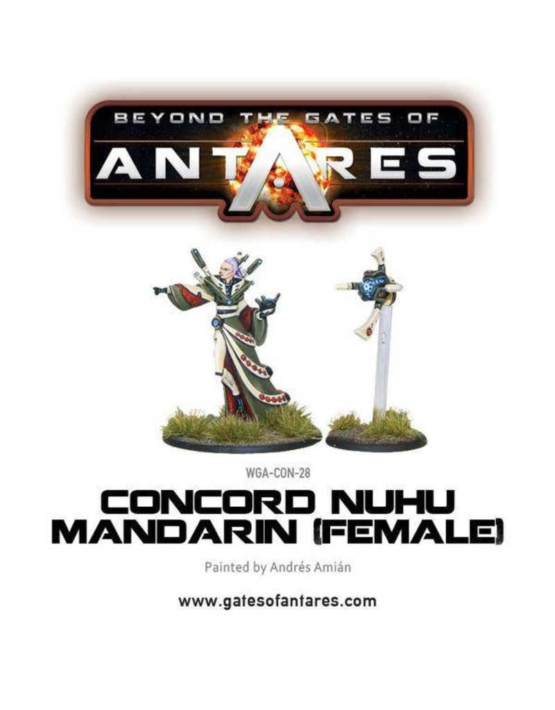 Warlord Games Concord Nu-Hu Mandarin (Female)