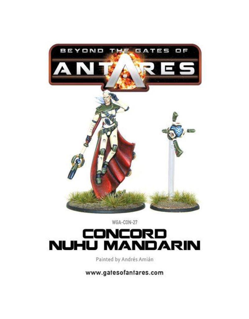 Warlord Games Concord Nu-Hu Mandarin