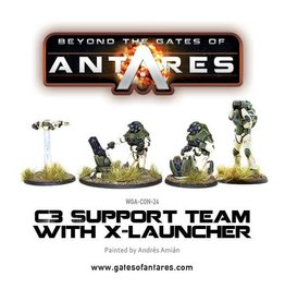 Warlord Games Support Team with X-Launcher