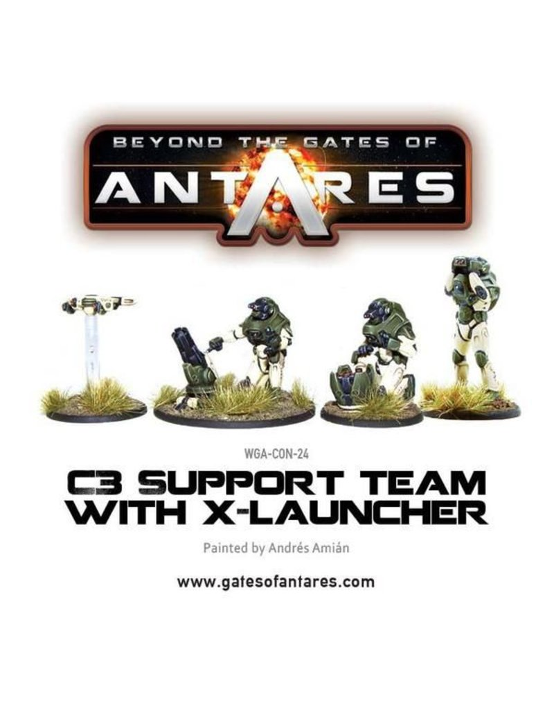 Warlord Games Concord Support Team with X-Launcher