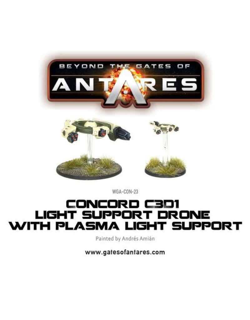 Warlord Games Concord Plasma Light Support Drone