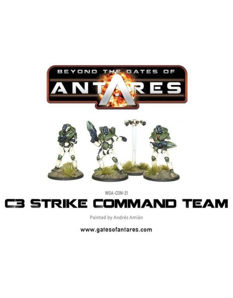 Warlord Games Concord Strike Command Team