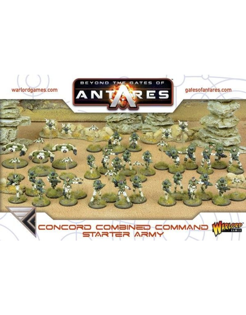 Warlord Games Gates Of Antares Concord Starter Army